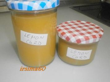 Rezept:  Lemon-Curd