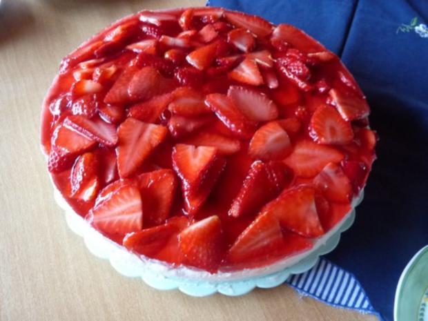 Torten: Erdbeertorte - Rezept