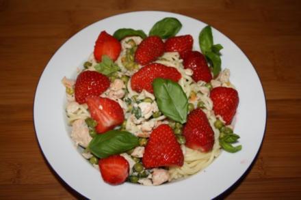 Erdbeer-Spaghetti - Rezept