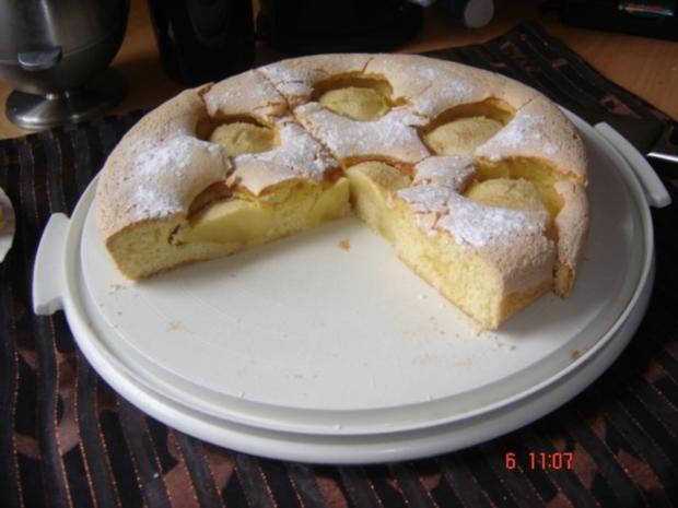 Mama`s schneller Apfelkuchen - Rezept
