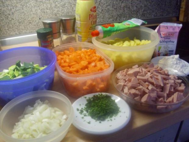 Fleischwurst-Möhren Topf - Rezept - Bild Nr. 2