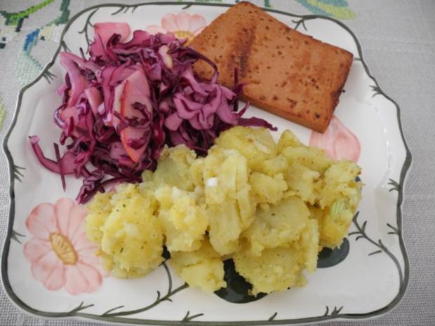 Vegan : Rotkohl - Rohkost - Salat - Rezept - Bild Nr. 7