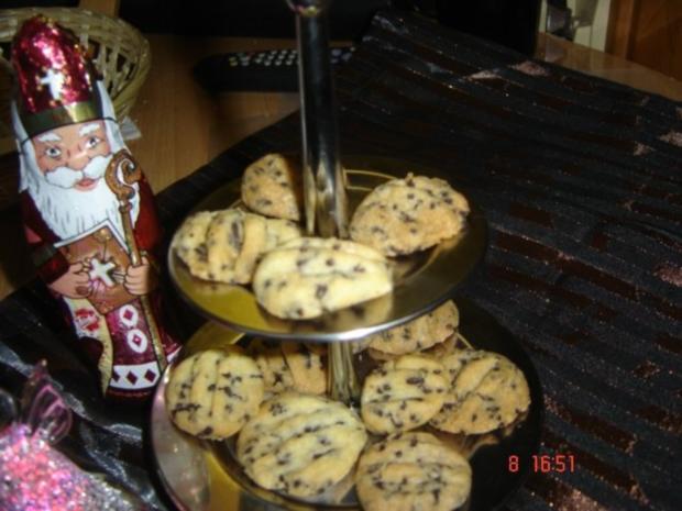 Vanillepuddigplätzchen - Rezept
