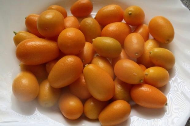Einmachen: Orangengelee mit Kumquat - Rezept