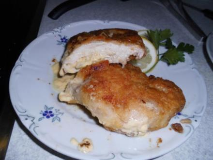 Ananas-Schnitzel-Cordon-Bleu - Rezept