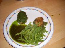 Schweine-Medaillons mit Bärlauchpesto - Rezept