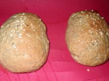 Backen: Hanf-Milchbrötchen - Rezept