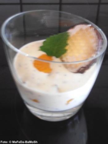 Fruchtiger Schokokuss-Quark - Rezept