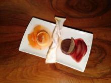 Zweierlei von Mich und Eiern: Bonét und Fiordilatte - Rezept