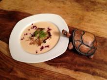 Weißwein-Suppe mit Zanderfilet - Rezept