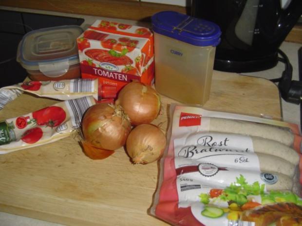 Currywurst a la Mamma - Rezept - Bild Nr. 2