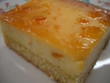 Rezept: Backen: Orangen-Käsekuchen  ~ Liebste Irmi, für dich nur das Beste zum Geburtstag ~