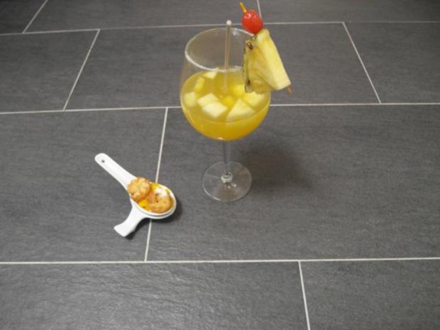 Mango-Ananas Bowle - Rezept