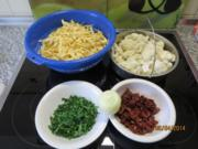 Fettucine tricolore - Rezept