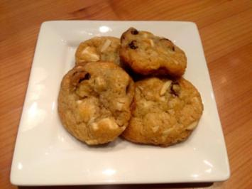 Cranberry-Mandel Cookies - Rezept