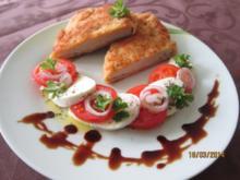 Schnitzel  Caprese - Rezept