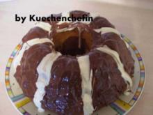 Schwarz-Weiss Marmorkuchen - Rezept