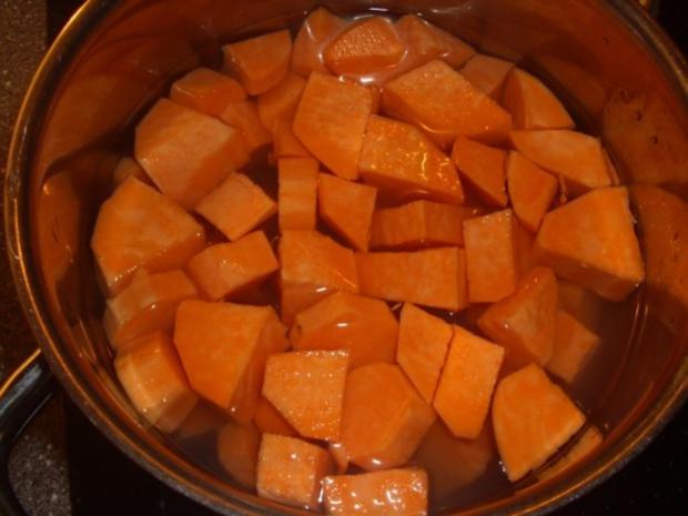 Süßkartoffel-Chili Püree - Rezept - Bild Nr. 2