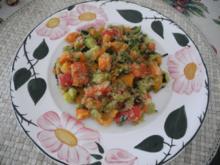 Vegan : Amarant - Gemüse - Pfanne - Rezept