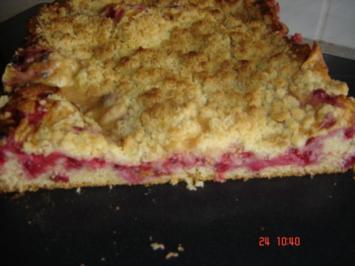 Rezept: Johannisbeer-Pudding-Kuchen