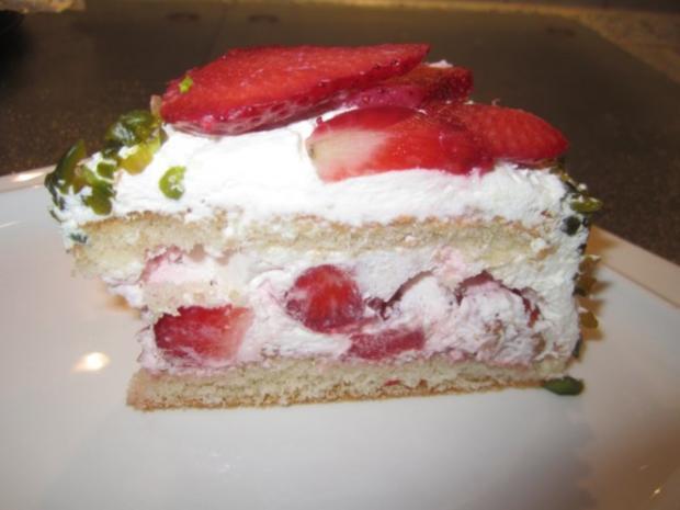 Erdbeer Vanille Torte Rezept Mit Bild Kochbar De