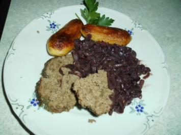 Tatar-Braten und Rotwein-Zwiebeln - Rezept