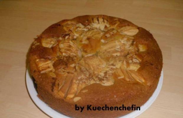 Schneller Versunkener Apfelkuchen - Rezept
