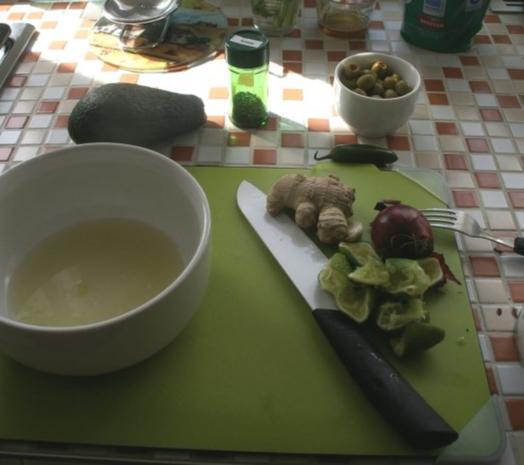 Ensalada de Patata de Mexico - Rezept