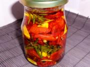 Antipasti: Eingelegte getrocknete Tomaten - Rezept