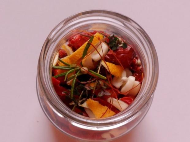 Antipasti: Eingelegte getrocknete Tomaten - Rezept - Bild Nr. 11