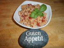 Ruck- Zuck Reis-Salat - Rezept