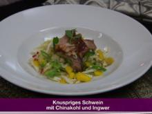 Asiatischer Salat mit gegrillter Haxe (Jochen Bendel) - Rezept