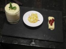 Triologie von der Ananas - Rezept
