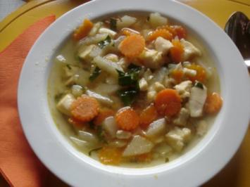Gemüse-Fischsuppe à la Papa - Rezept