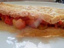 Kochen: Omelette mit Gemüse gefüllt - Rezept