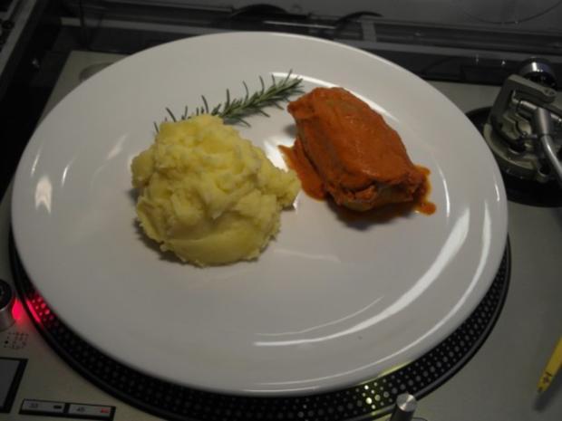 Holubzi mit Kartoffelbrei - Rezept