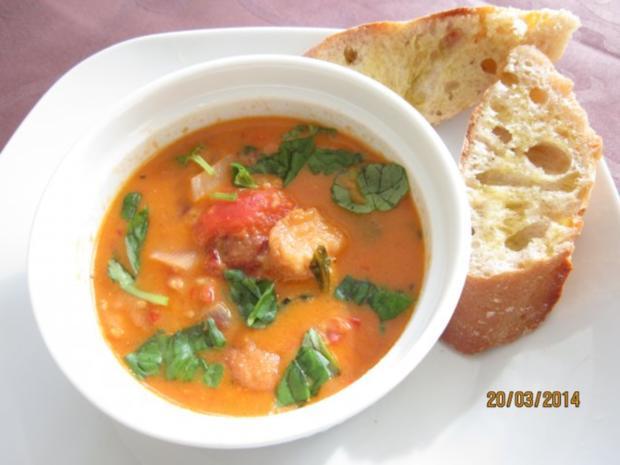 Toskanische Tomatensuppe - Rezept