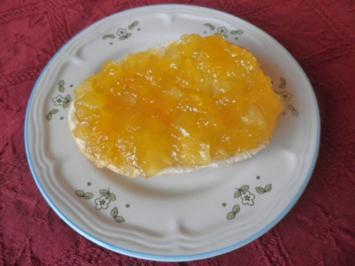 Beschwipste Ananas - Konfitüre - Rezept