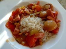 Leberkäse-Gemüse-Pfanne - Rezept