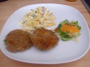 Gemüse Frikadellen - Rezept
