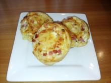 Flammkuchen-Schnecken - Rezept