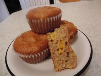Dinkel - Orangen Muffins - Rezept