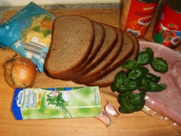 Herzhafter Brotauflauf - Rezept - Bild Nr. 2