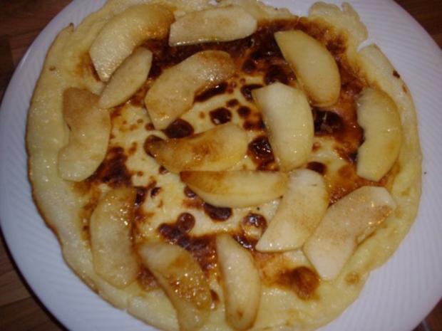 pfannekuchen mit zimtapfel - Rezept
