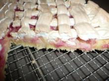 Rhabarberkuchen  mit Baiser ! - Rezept