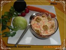 Möhrensalat und verschiedenes Gemüse - Rezept