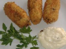Tapa   Stockfisch - Kapern - Kroketten - Rezept