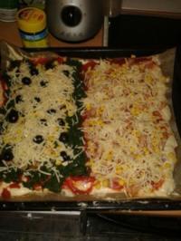 Suessebienes Pizza spezial - Rezept