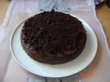 Schwarzer Krümelkuchen - Rezept