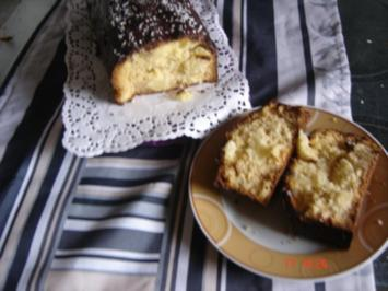 Ananaskuchen mit Marzipan - Rezept